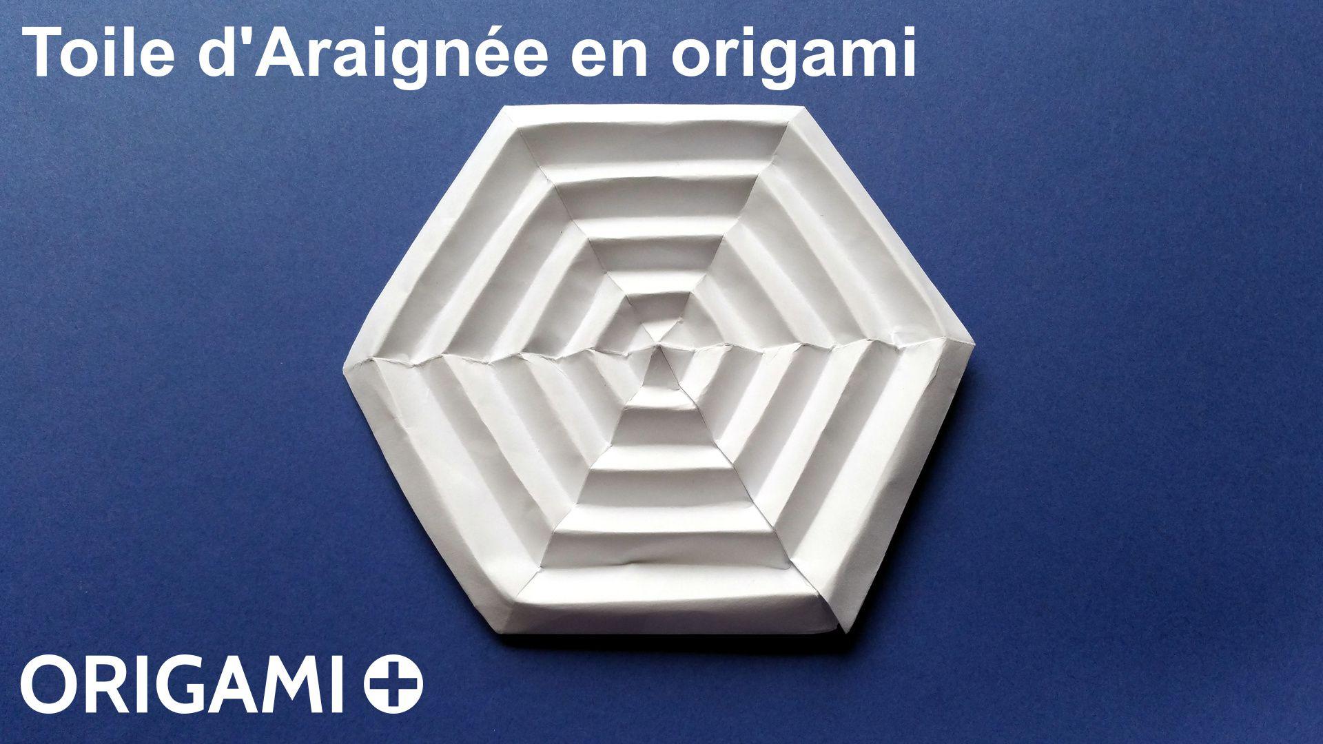 toile d'araignée en origami
