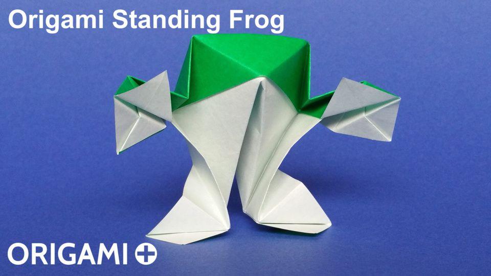Standing Frog
