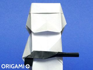Blaster pour Stormtrooper en origami