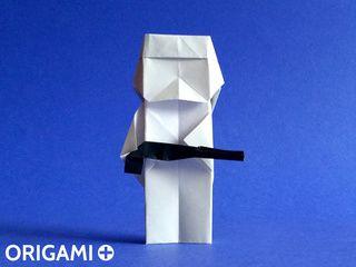 Stormtrooper en origami