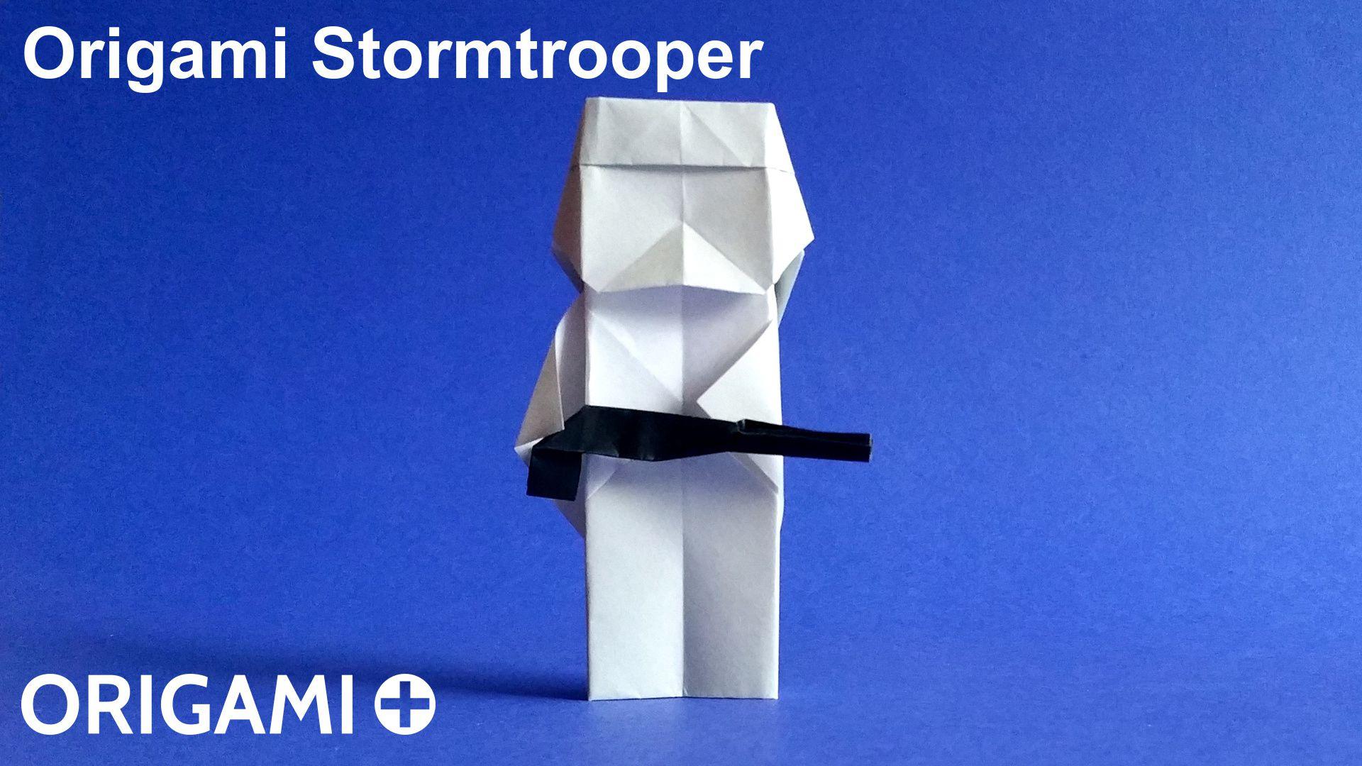 Clone Trooper with instrux | Origami Yoda | 1080x1920