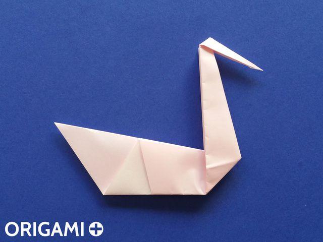 Swan - step 14