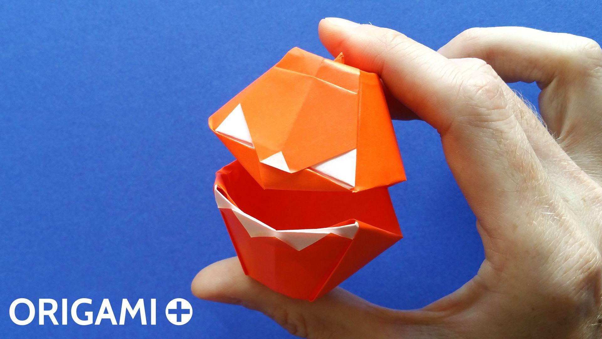 Origami Talking Frog Folding Instructions   1080x1920