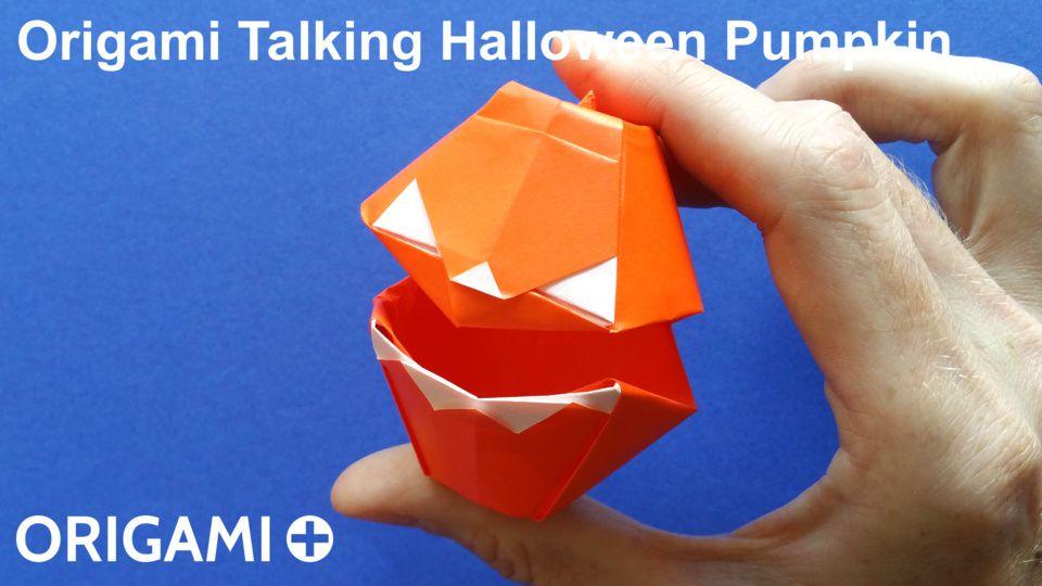 Talking Halloween Pumpkin