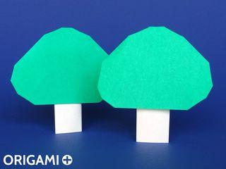 Arbre en origami
