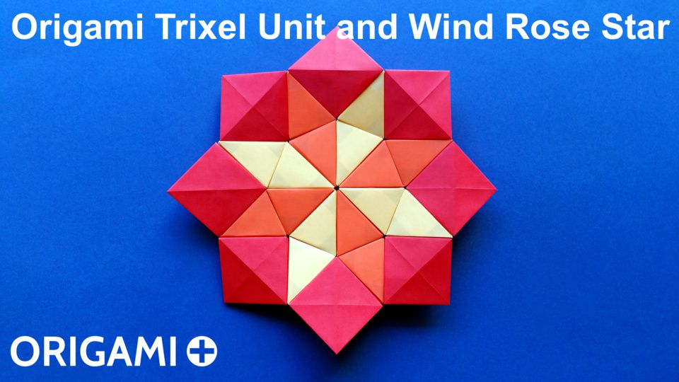 Trixel Unit and Wind Rose Star Mosaic