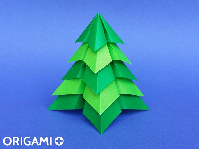 Very Easy Christmas Tree - step 1