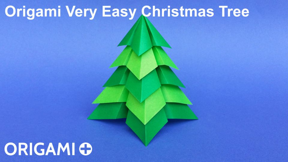 Origami Very Easy Christmas Tree