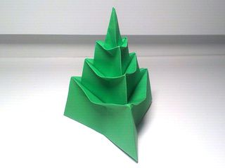 Origami Christmas Tree by Ladislav