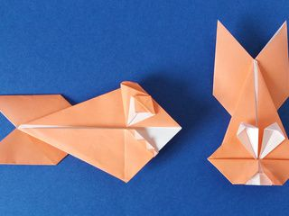 Origami Bunny turned into a Torpedo Shark