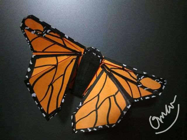 Origami Monarch Butterfly
