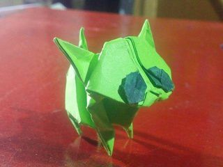 Walking Origami Kitten