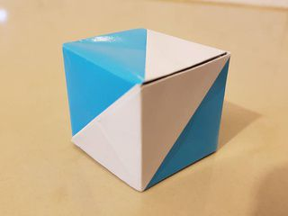Argentina Origami Flag Box by Cristian Rojas