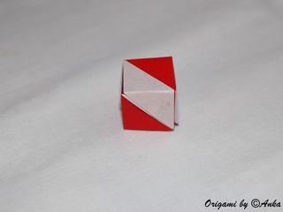 Austria Origami Flag Box by Annette Bussmann