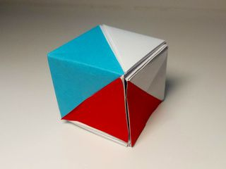 Czechia Origami Flag Box by Ladislav Kaňka