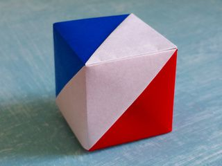 France Origami Flag Box by Stéphane Gigandet