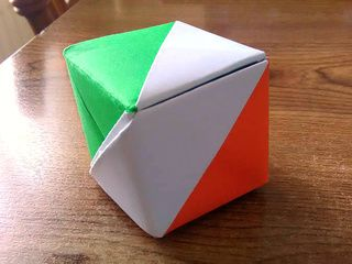 Ireland Origami Flag Box by Martina Dunne