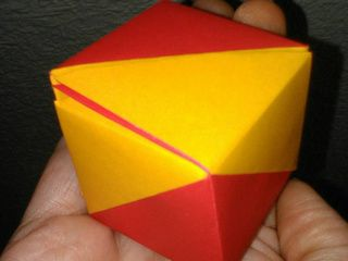Spain Origami Flag Box by Sonsi Martin