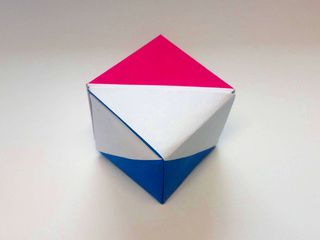 The Netherlands Origami Flag Box by Ladislav Kaňka
