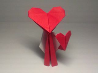Origami Lover Boy by Ladislav