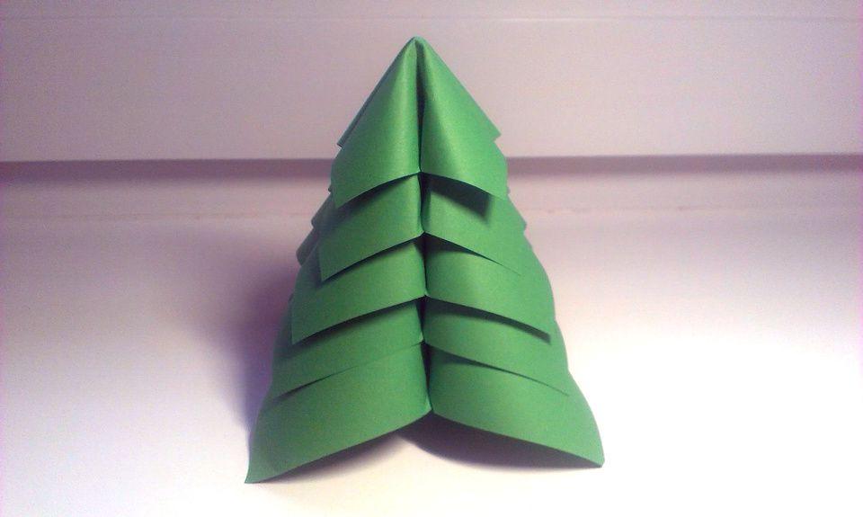 Origami Christmas Tree (Jo Nakashima) - YouTube | 575x960