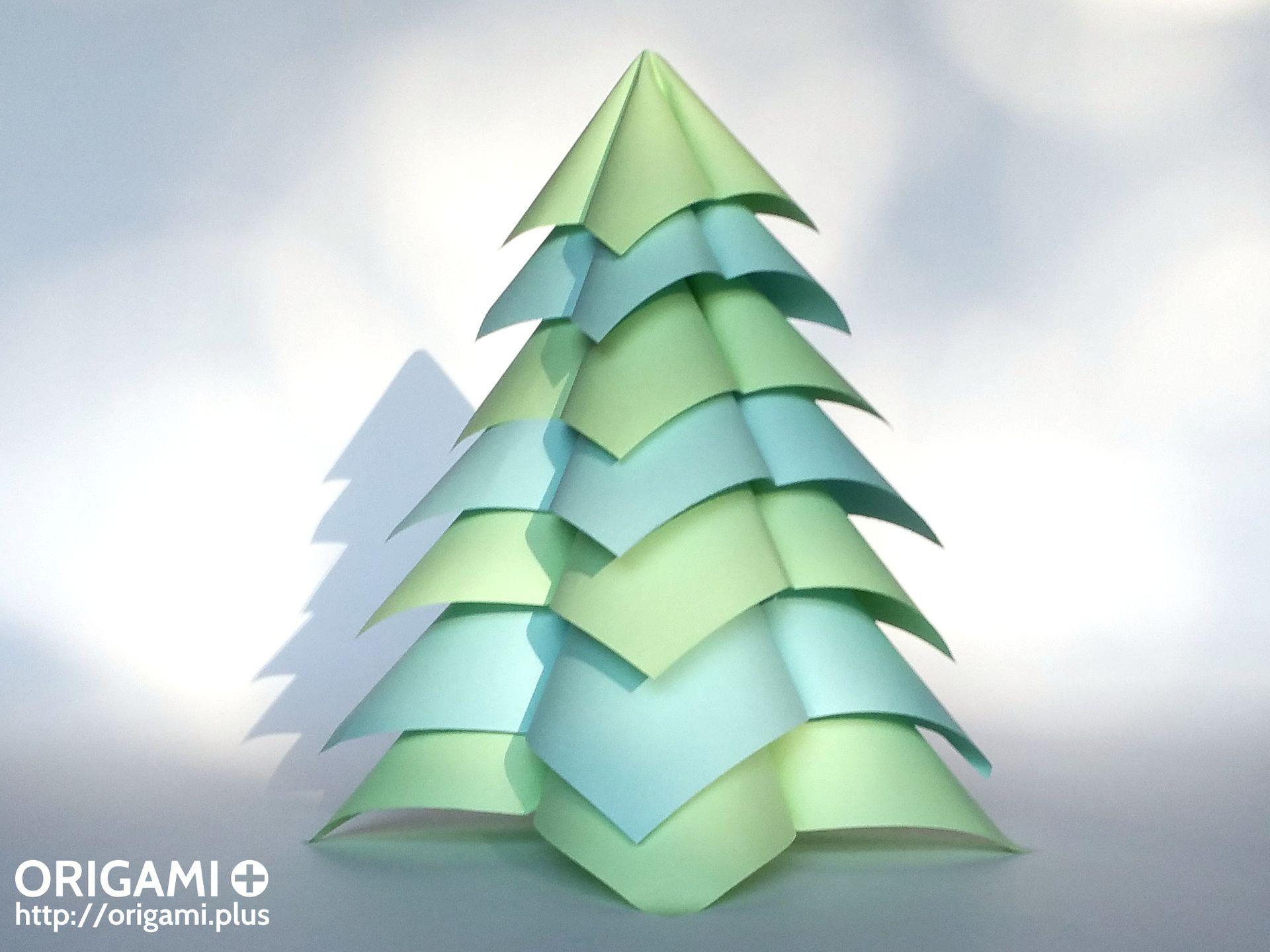 Christmas Decorations Origami Folding Instructions] Macabra ... | 1440x1920