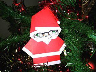 Origami Santa Claus by Marusia FV