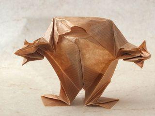 Origami Frog Evolution
