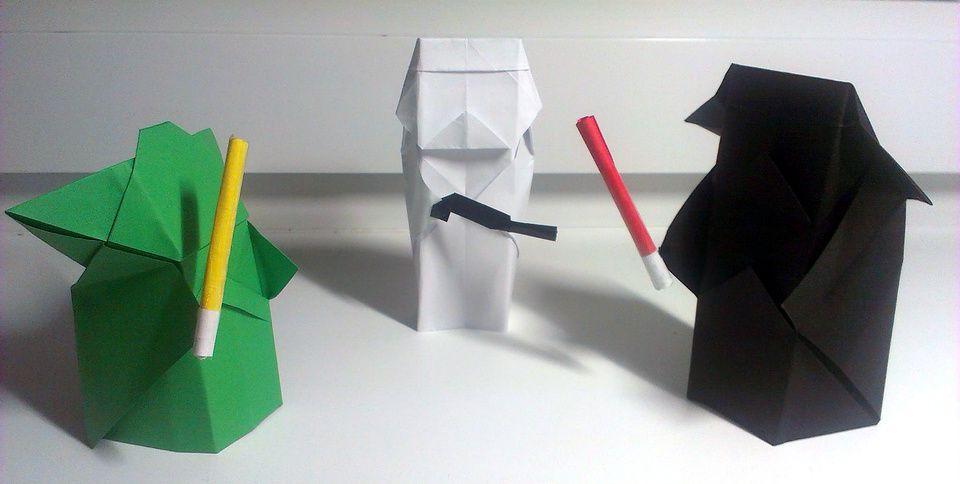 Make an easy Origami Yoda Halloween Costume!   OrigamiYoda   484x960