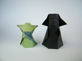 Origami Yoda and Darth Vader