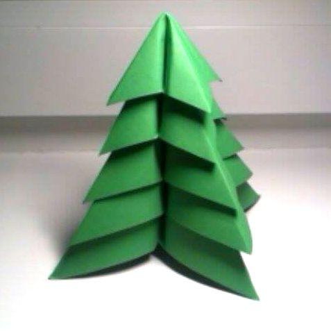 - Modular Origami Christmas Tree