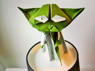 A beautiful Origami Yoda