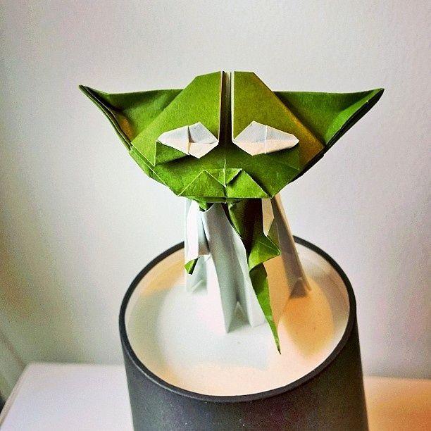 A Beautiful Origami Yoda