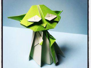 Origami Jedi Master Yoda